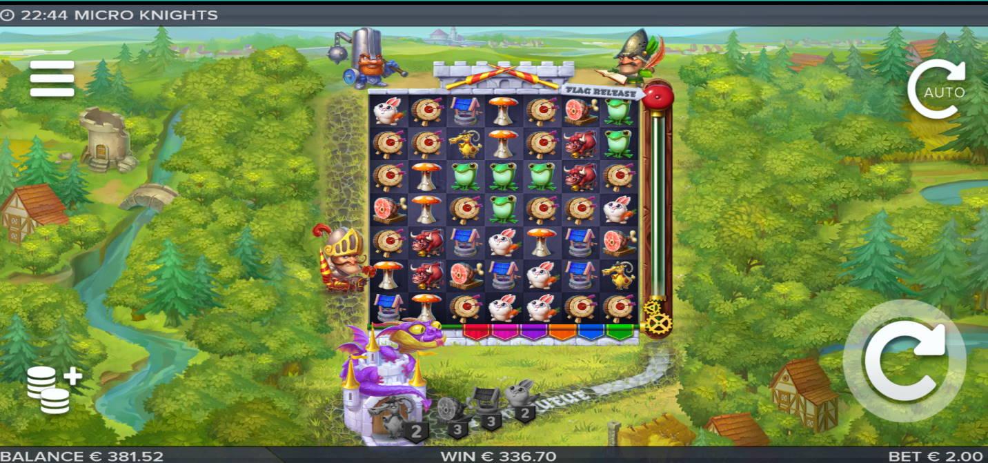 Micro Knights Casino win picture by Klaspetterniklas 27.5.2020 336.70e 168X Playzee