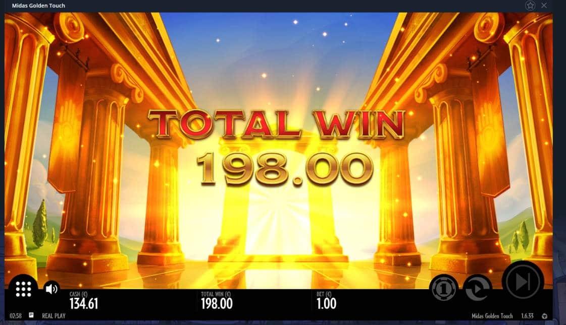 Midas Golden Touch Casino win picture by Mrmork666 16.6.2020 198e 198X Vulkan Vegas