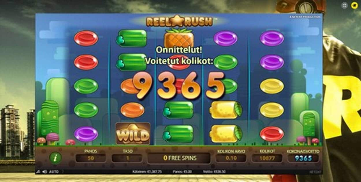 Reel Rush Casino win picture by kalmakoura666 17.6.2020 936.50e 187X