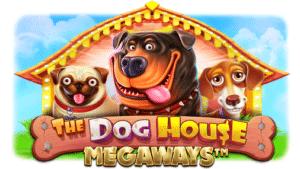 The Dog House Megaways slot logo