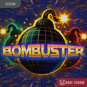Bombuster slot logo