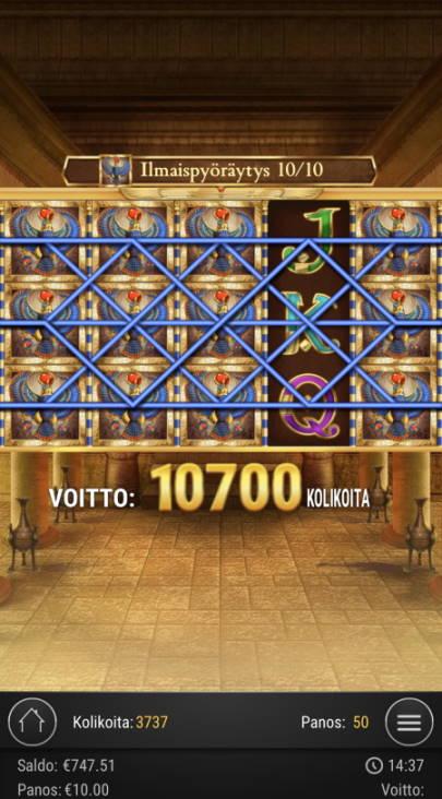 Book of Dead Casino win picture by sonefinland 12.7.2020 2140e 214X
