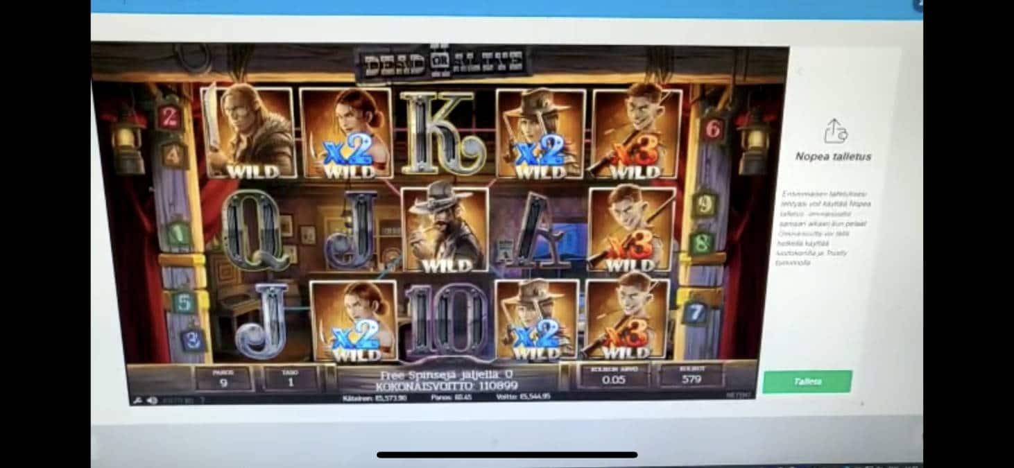 Dead or Alive 2 Casino win picture by Rixxah 11.7.2020 5544.95e 12322X