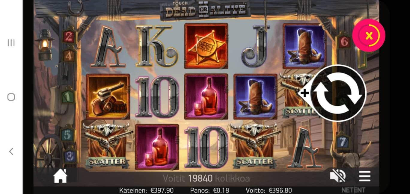 Dead or Alive 2 Casino win picture by dj_niemi 30.6.2020 393.80e 2204X