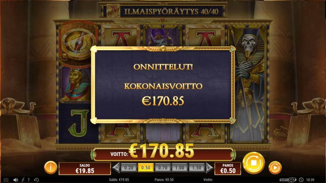 Doom of Dead Casino win picture by Kari Grandi 25.6.2020 170.85e 342X
