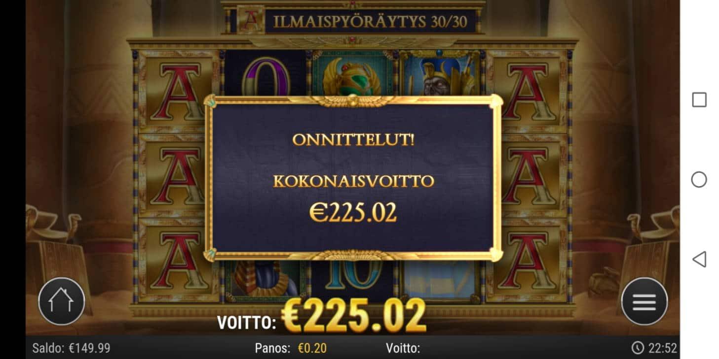Doom of Dead Casino win picture by Slowviking88 5.7.2020 225.02e 1125X
