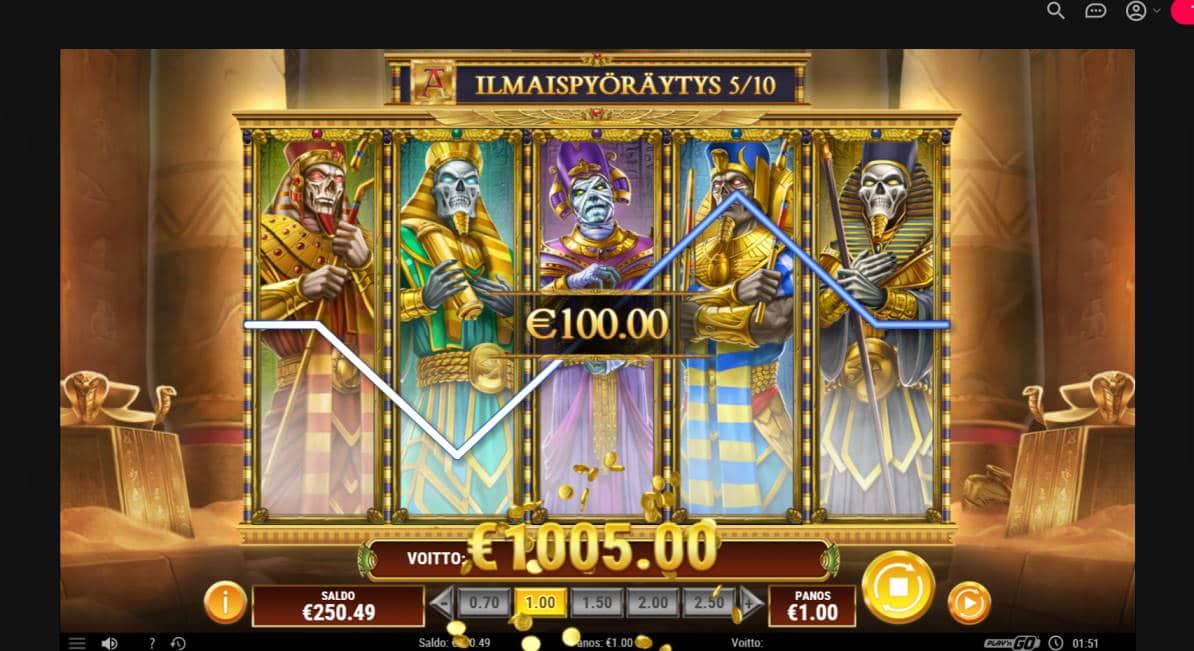 Doom of Dead Casino win picture by jyhi 27.6.2020 1005e 1005X
