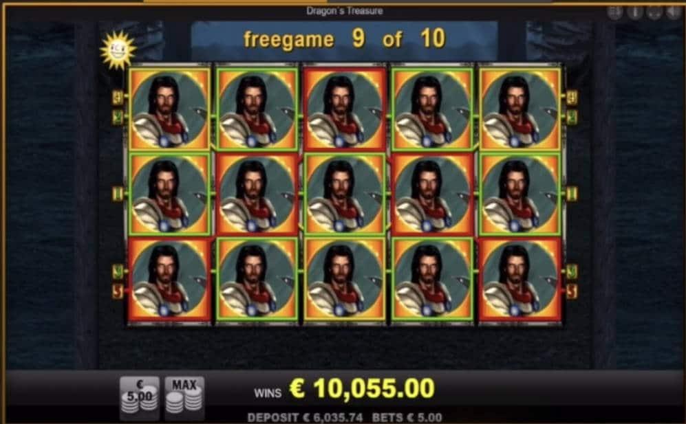 Dragons Treasure Casino win picture by Wallystayfunnytv 26.6.2020 10055e 2011X