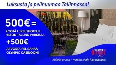 Free hotel nights in Tallinn Hilton