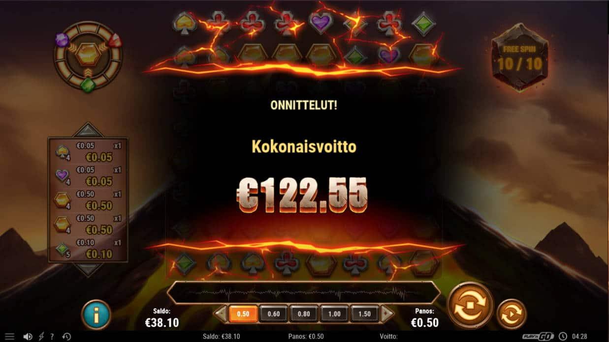 Gold Volcano Casino win picture by Kari Grandi 18.7.2020 122.55e 245X