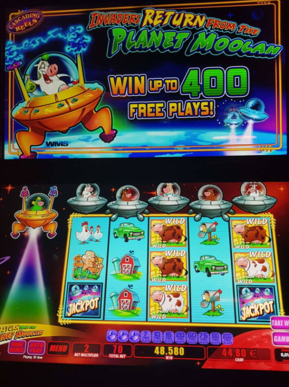 Invaders Return From the Planet Moolah Casino win picture by MrMork666 26.4.2020 485.80e 694X Olympic Casino