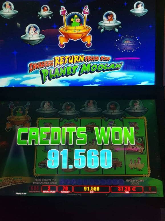 Invaders Return From the Planet Moolah Casino win picture by MrMork666 27.6.2020 915.60e 1308X Olympic Casino