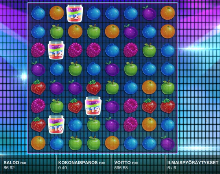 Jamming Jars Casino win picture by LexKing 8.7.2020 596.58e 1491X