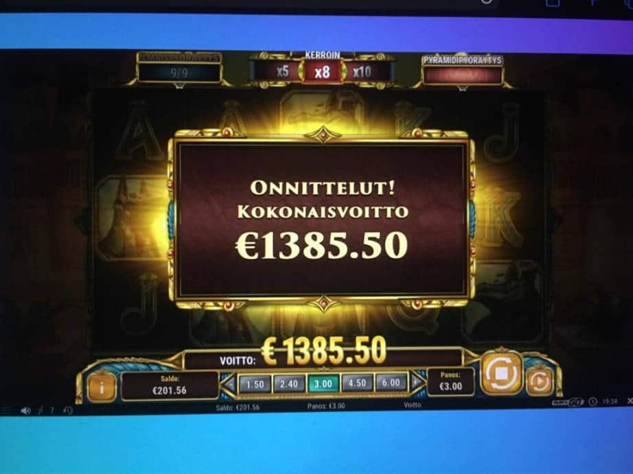 Legacy of Egypt Casino win picture by SittiHippi 13.6.2020 1385.50e 462X Wildz