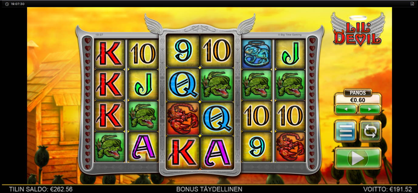 Lil Devil Casino win picture by Kari Grandi 21.7.2020 191.52e 319X