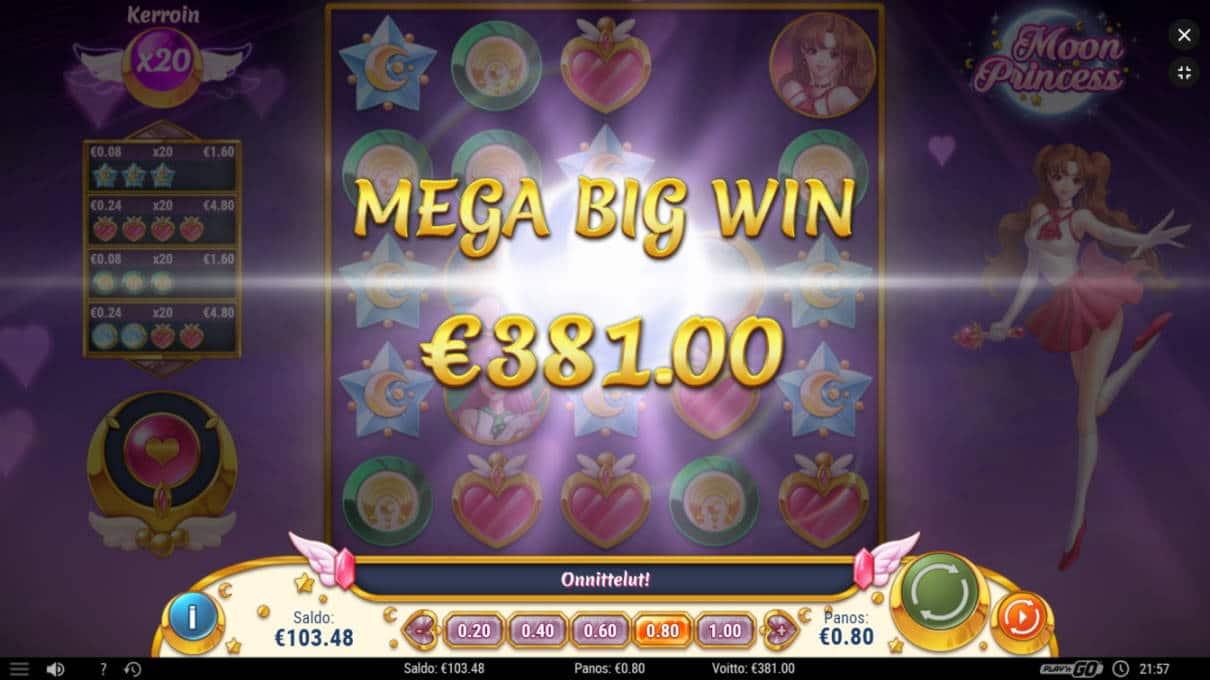 Moon Princess Casino win picture by jyhi 12.7.2020 381e 476X
