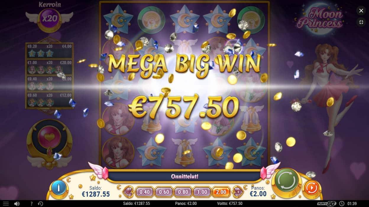 Moon Princess Casino win picture by jyhi 13.7.2020 757.50e 379X