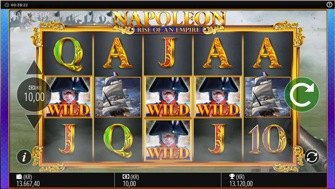 Napoleon Casino win picture by iknownaating 6.7.2020 13120Kr 1312X