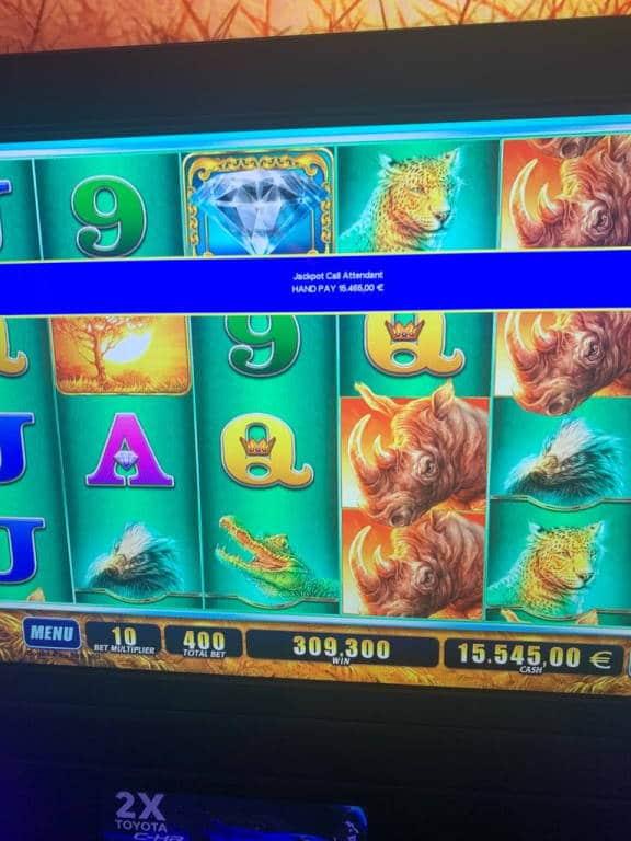 Raging Rhino Casino win picture by Pottijussi 19.7.2020 15465e 773X Olympic Casino