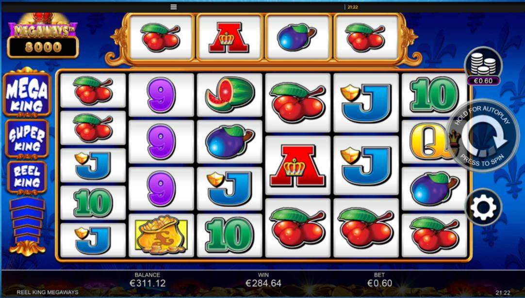 Reel King Megaways Casino win picture by Kari Grandi 24.6.2020 284.64e 474X