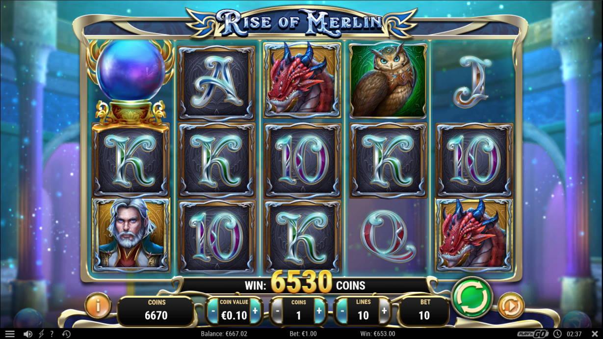 Rise of Merlin Casino win picture by Kari Grandi 20.7.2020 653e 653X
