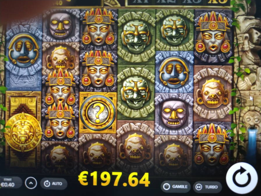 Gonzos Quest Megaways Casino win picture by Vilutso 23.7.2020 197.64e 494X