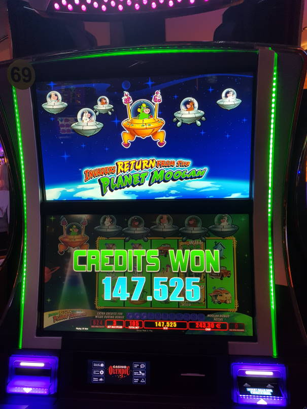 Ivanders Return From the Planet Moolah Casino win picture by MrMork666 29.7.2020 2950.50e 1405X Casino Olympic