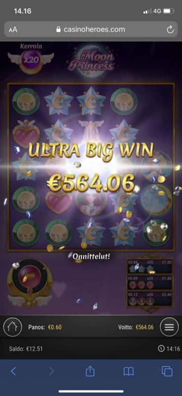 Moon Princess Casino win picture by henrimikaell 30.7.2020 564.06e 940X CasinoHeroes