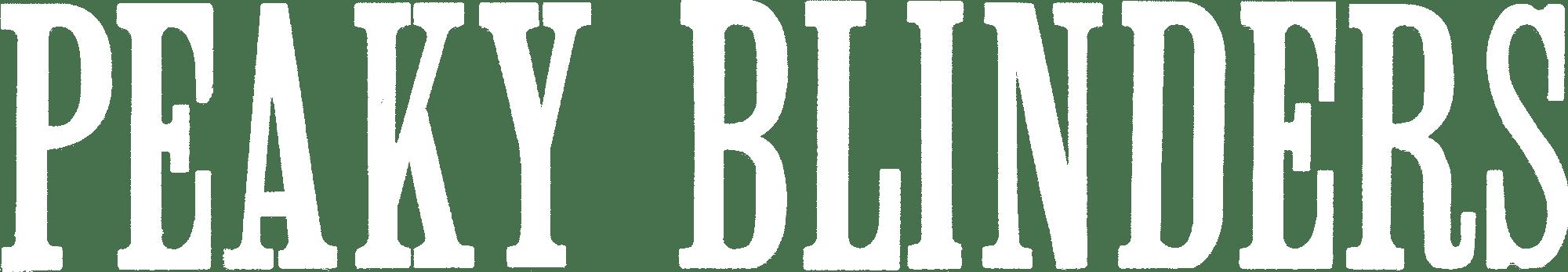 Peaky Blinders horizontal logo