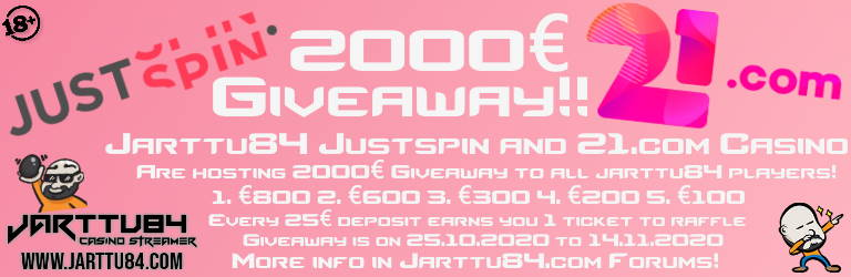 21.com justspin Giveaway