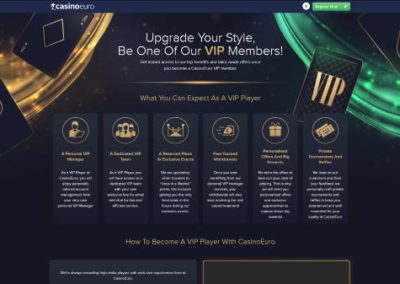 CasinoEuro Vip program