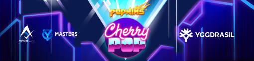 CherryPop Slot Banner