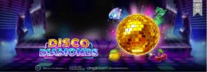 Disco Diamonds slot logo