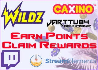 Earn rewards by watching the stream!