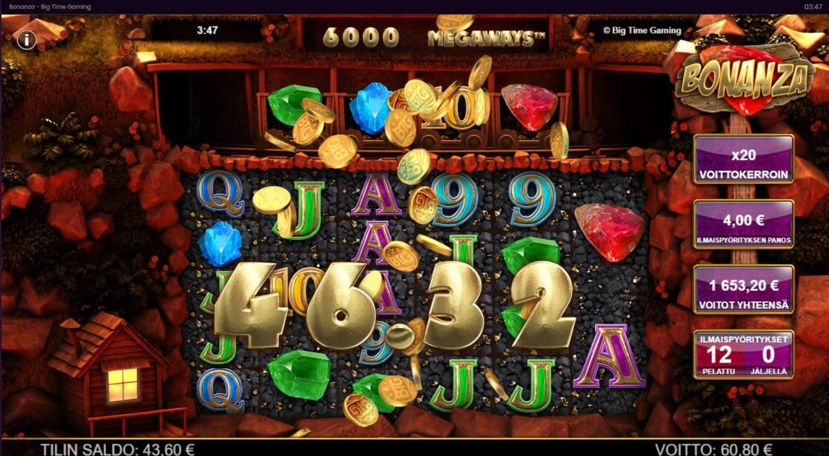 Bonanza Casino win picture by Shorty 1.11.2020 1653.20e 413X