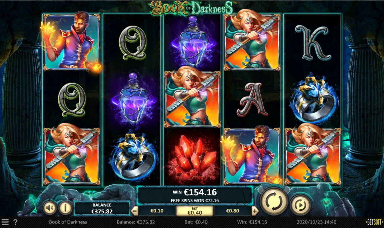 Book of Darkness Casino win picture by LexKing 23.10.2020 154.16e 385X