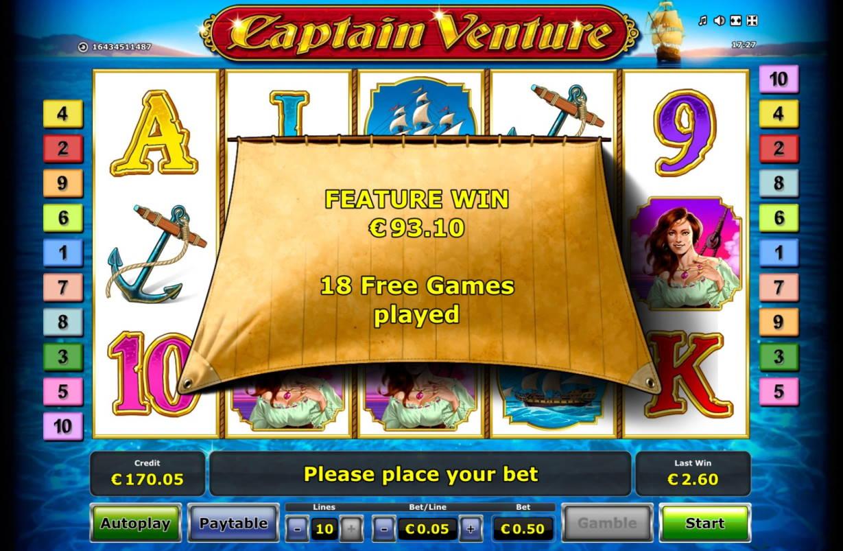 Captain Venture Casino win picture by MrMork666 16.11.2020 93.10e 186X