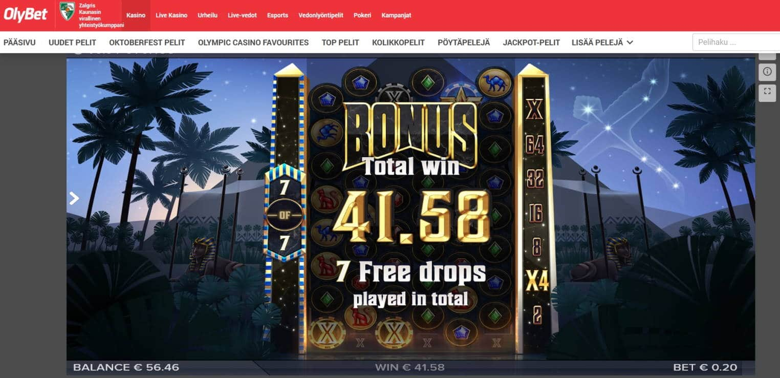 Cygnus Casino win picture by MrMork666 16.11.2020 41.58e 208X Olybet