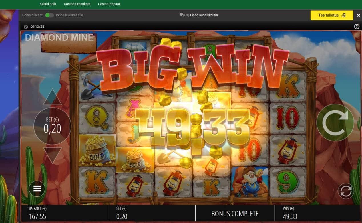 Diamond Mine Megaways Casino win picture by MrMork666 16.11.2020 49.33e 247X