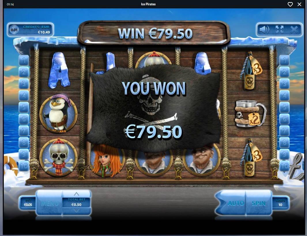 Ice Pirates Casino win picture by MrMork666 16.11.2020 79.50e 159X