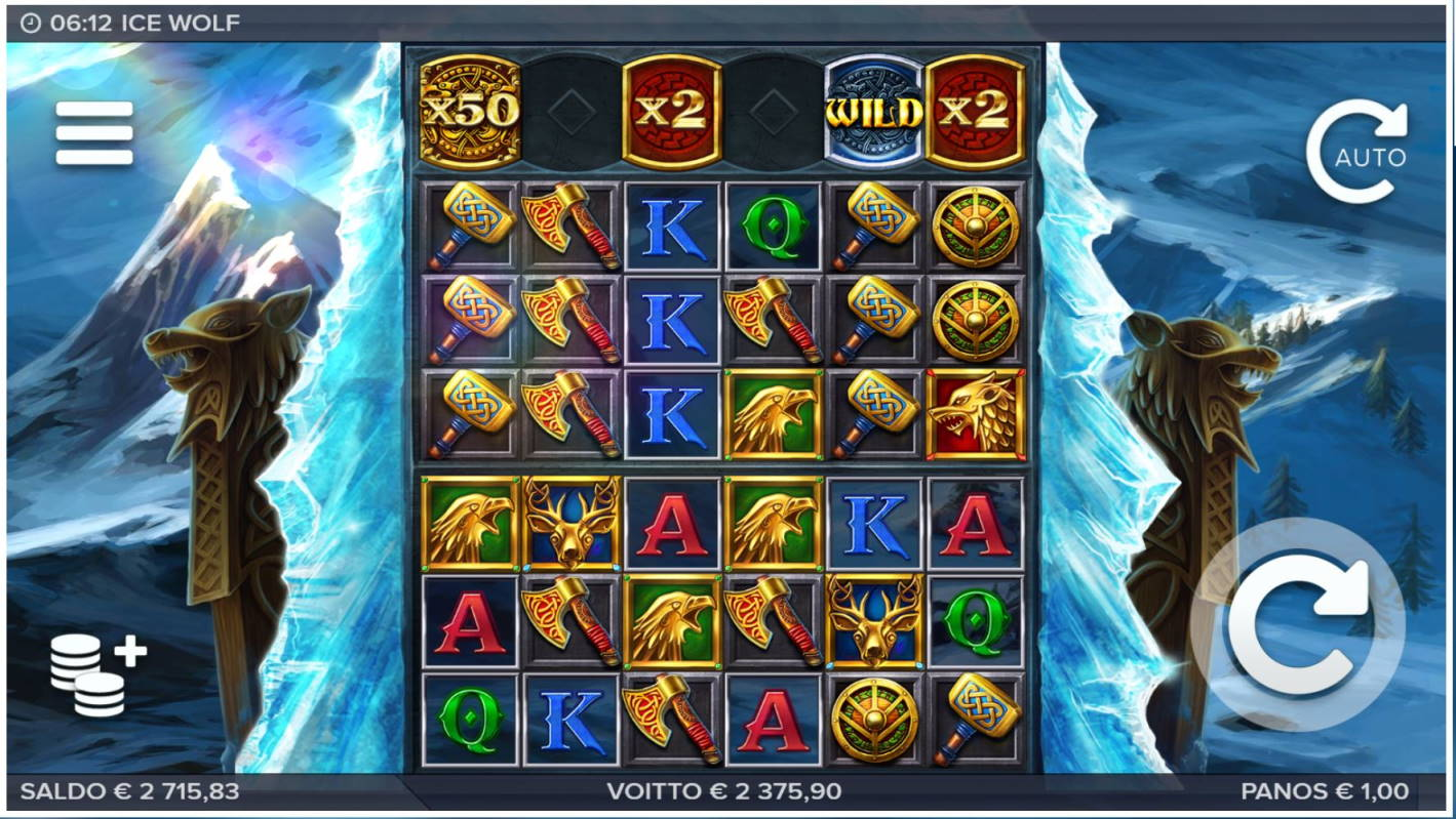 Ice Wolf Casino win picture by LexKing 15.11.2020 2375.90e 2376X