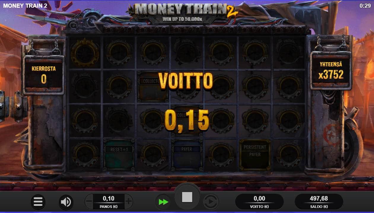 Money Train 2 Casino win picture by Morrimoykky 31.10.2020 375.20e 3752X
