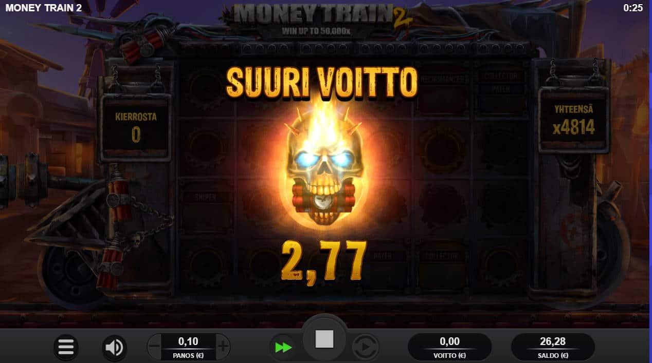 Money Train 2 Casino win picture by Morrimoykky 31.10.2020 481.40e 4814X
