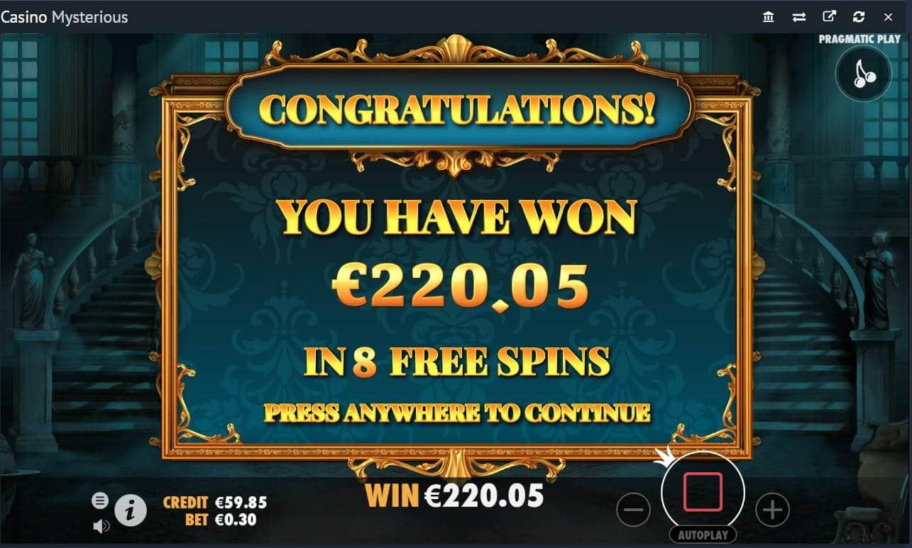 Mysterious Casino win picture by fujilwyn 11.11.2020 220.05e 734X