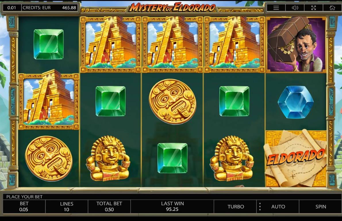 Mystery of Eldorado Casino win picture by MrMork 11.11.2020 95.25e 191X
