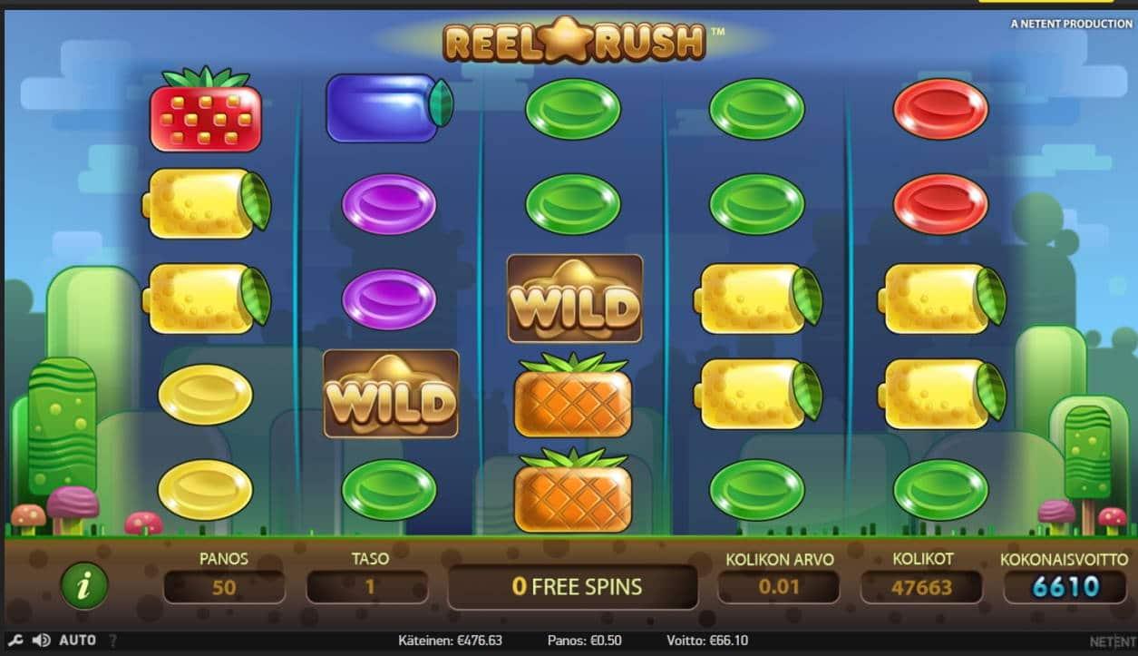 Reel Rush Casino win picture by MrMork666 16.11.2020 66.10e 132X