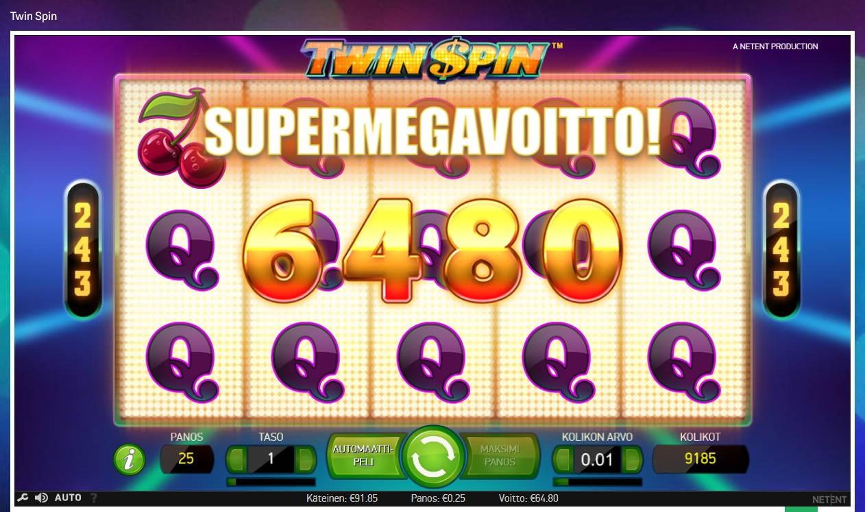 Twinspin Casino win picture by MrMork666 16.11.2020 64.80e 259X