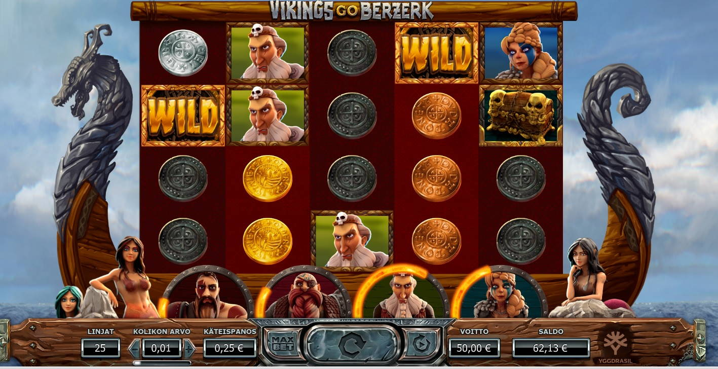 Vikings Go Berzerk Casino win picture by MrMork666 28.10.2020 50e 200X