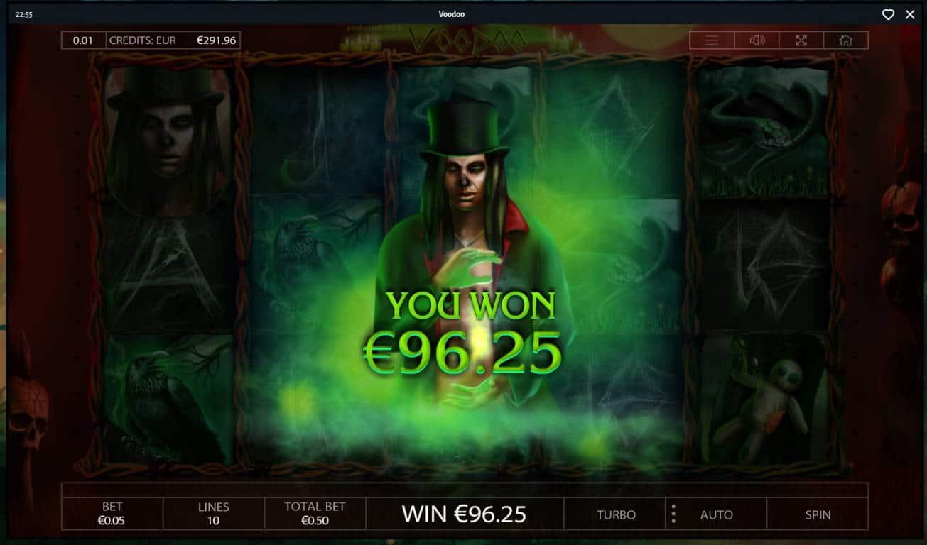 Voodoo Casino win picture by MrMork666 16.11.2020 96.25e 193X