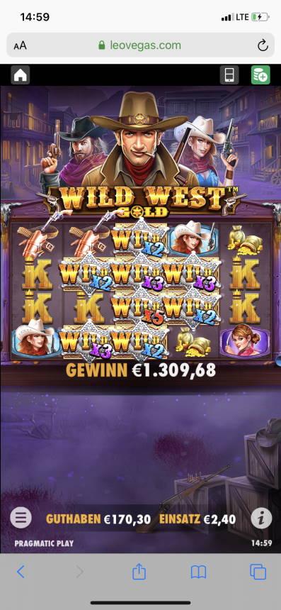 Wild West Gold Casino win picture by Dercromite 19.10.2020 1309.68e 546X